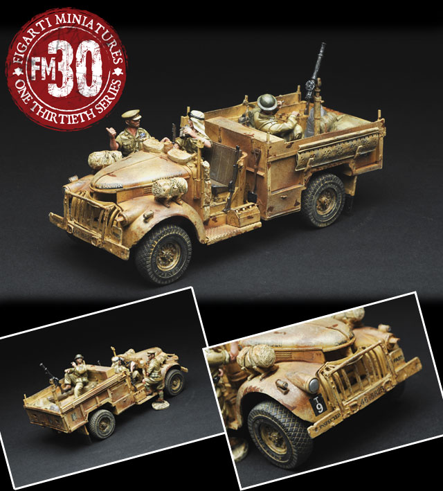Wild West Chevrolet Accessories >> Grey Goose Collectables - B38033A LRDG 30cwt. Chevrolet (Sand & Red Clay Camouflage)